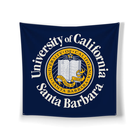 "UCSB Classic Seal Wall Hanging 30"" x 30"""