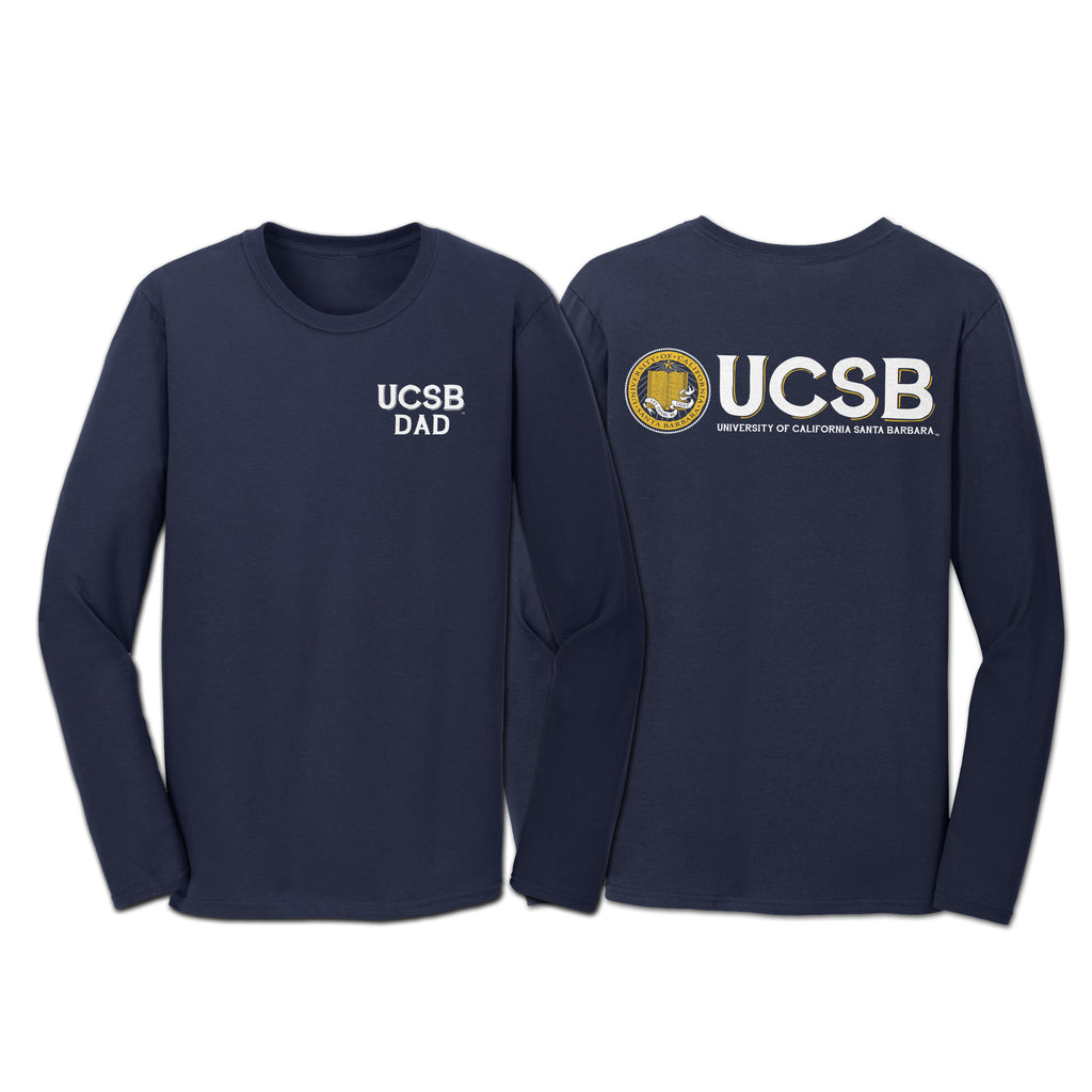 "UCSB ""Dad"" Long Sleeve Tee"