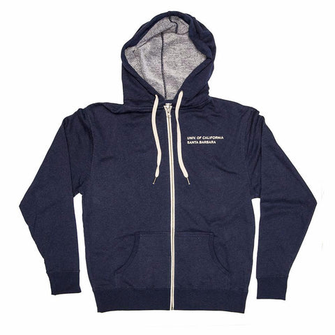 UCSB Heather French Terry Zip Hoodie