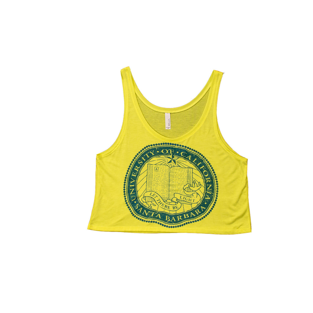 UCSB Seal Neon Crop top