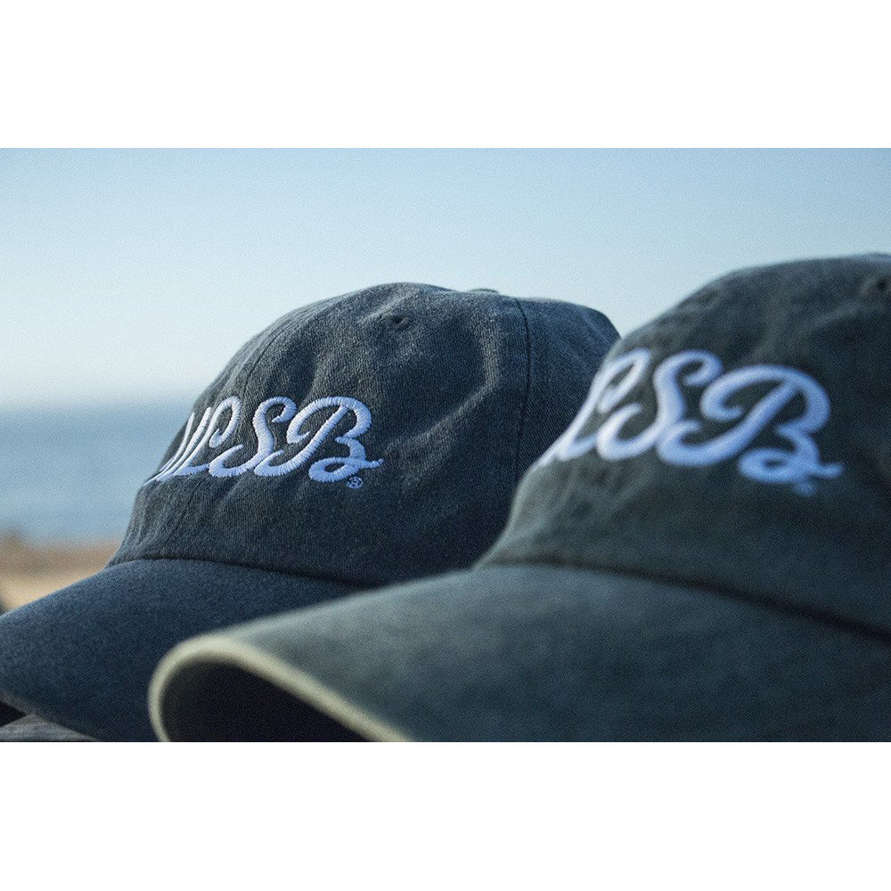 UCSB Pigment Dyed Initials Cap - Washed Hunter