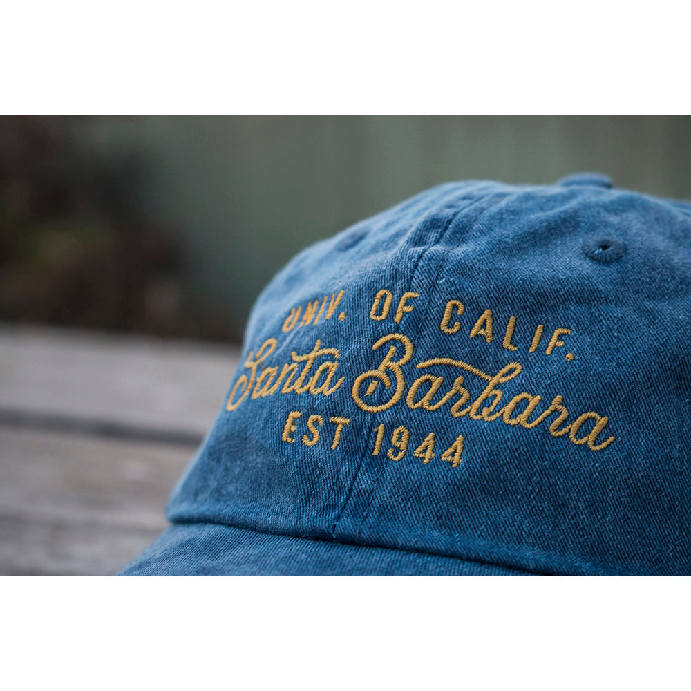 UCSB Pigment Dyed Old Gold Cap