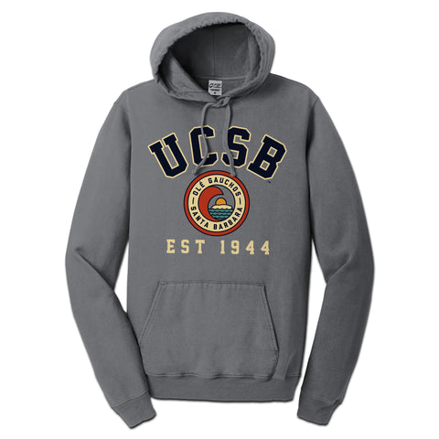 UCSB Pigment Dyed Pullover Hood