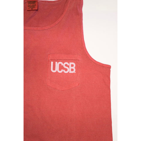 UCSB Pigment Pocket Tank Top