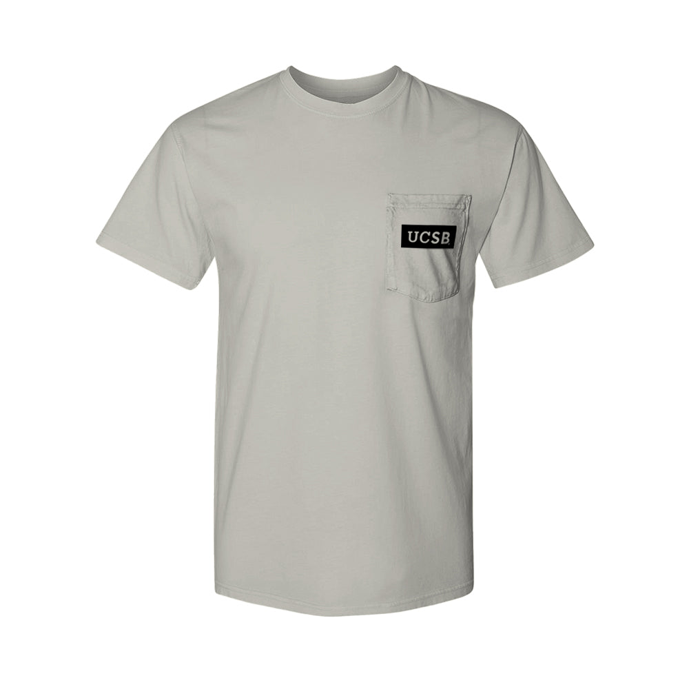 UCSB Pocket Logo Tee