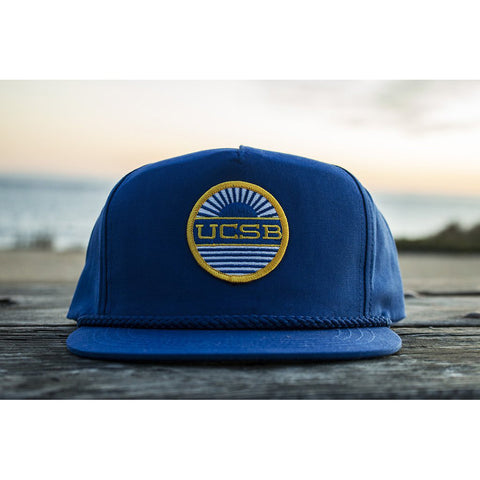 UCSB Classic Poplin Patch Hat