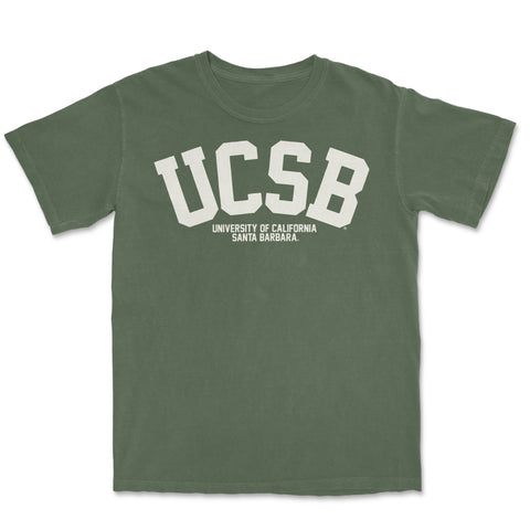 UCSB Subtle- Tee Moss