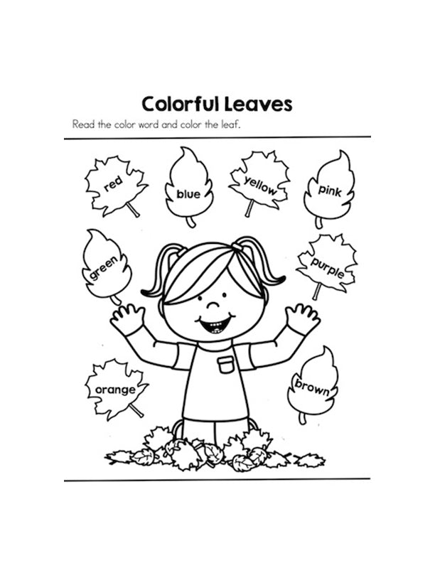PreK Preschool Daily Reading Activities Colour Animals – Free Pre K Worksheets