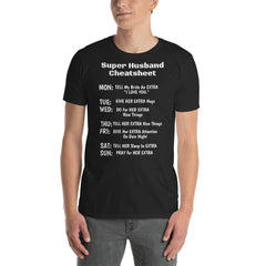 Super Husband Cheat-Sheet - Infinity B T-SHIRT