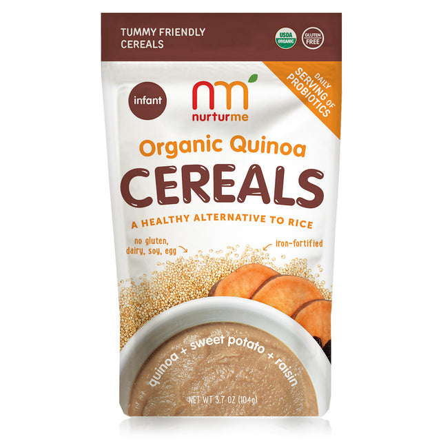 Quinoa Cereals <br/> quinoa + sweet potato + raisin