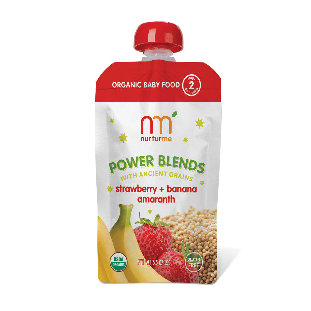 Power Blends <br/> strawberry, banana, amaranth<br/>6-pack box