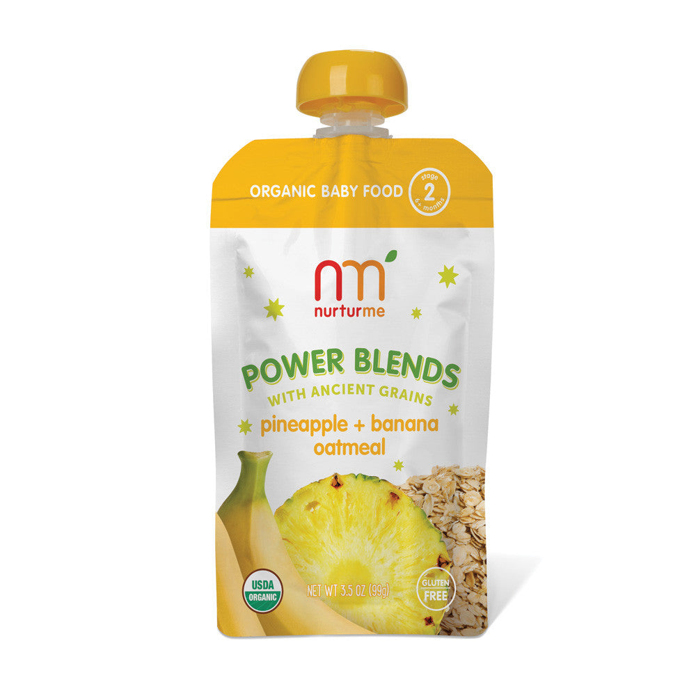 Power Blends <br/> pineapple, banana, oatmeal<br/>6-pack box