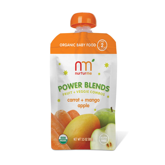 Power Blends <br/> carrot, mango, apple<br/>6-pack box