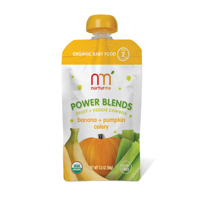 Power Blends <br/> banana, pumpkin, celery<br/>6-pack box