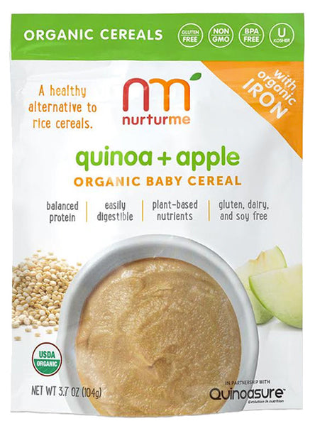 Quinoa Cereals Quinoa Apple Nurturme