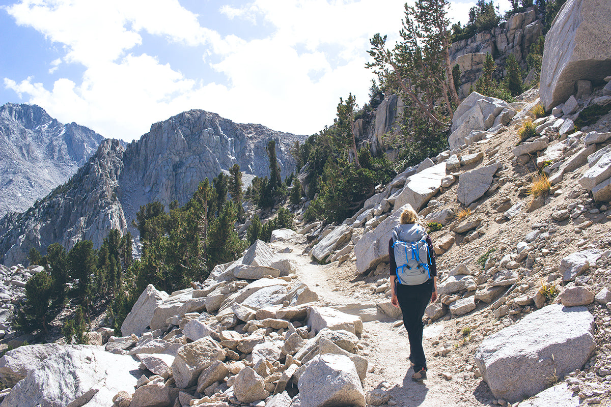 Freedom Rise Clothing - Hike Up to Kearsarge Pass Onion Valley