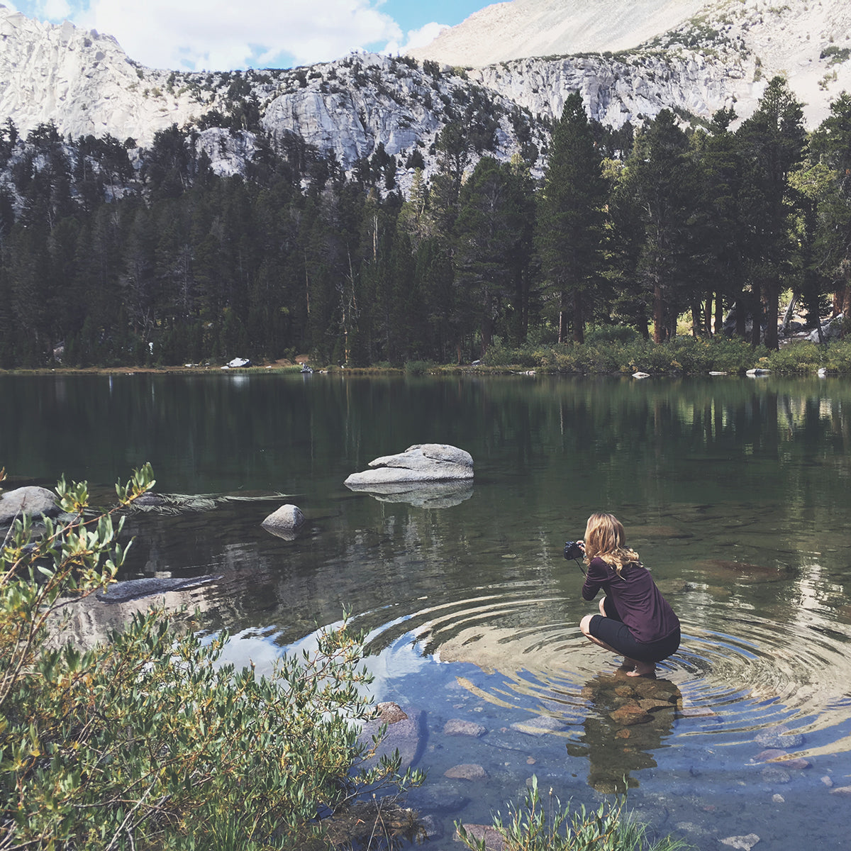Freedom Rise Clothing - Lake Up to Kearsarge Pass