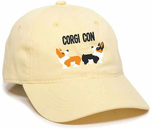 CORGI CON PREMIUM COTTON HOOMIN HAT | NEW COLOR!