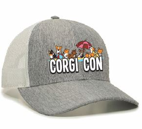 CORGI CON PREMIUM LOW PROFILE TRUCKER HAT