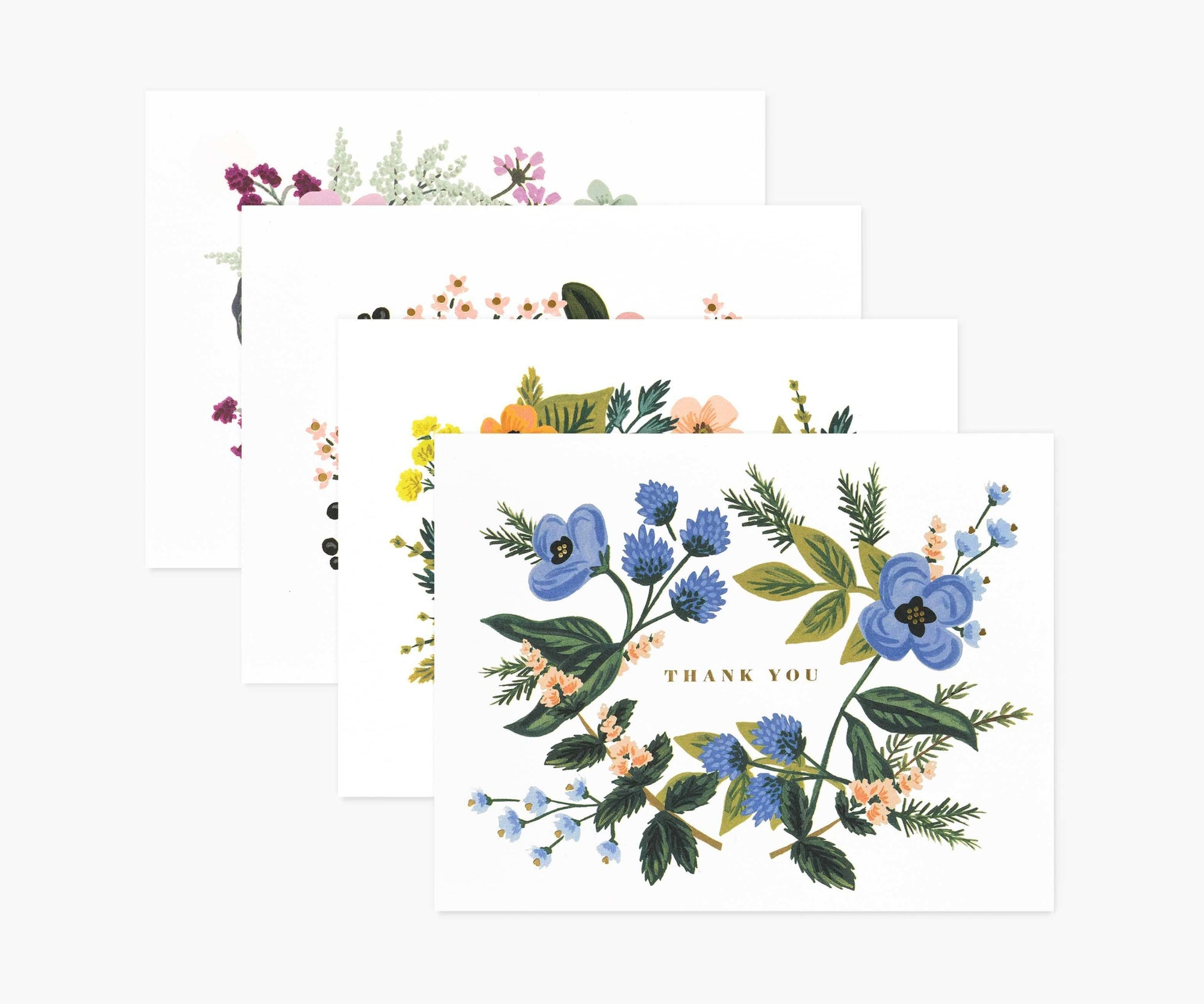 Assorted Bouquet Card Set Rifle Paper Co Cards