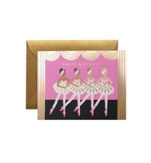 Ballet Birthday Card Rifle Paper Co Cards