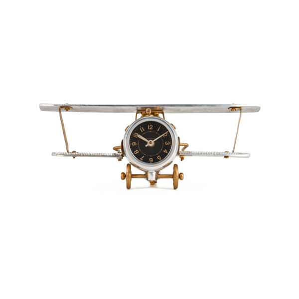 Biplane Table/Wall Clock Pendulux Picture Frames & Clocks