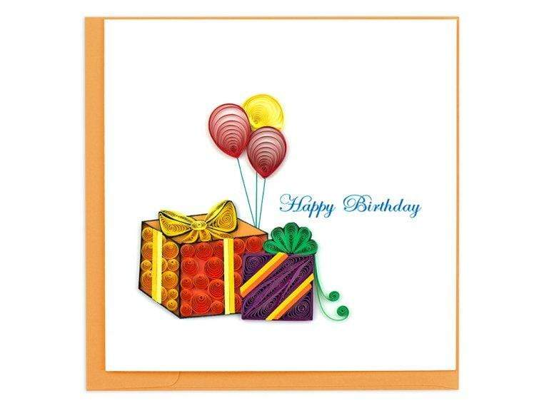 Birthday Gifts & Balloons Quilling Card Quilling Card Llc Paper Goods