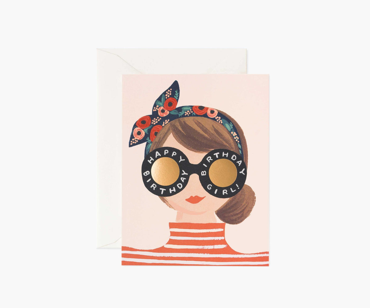 Birthday Girl Card Rifle Paper Co Cards