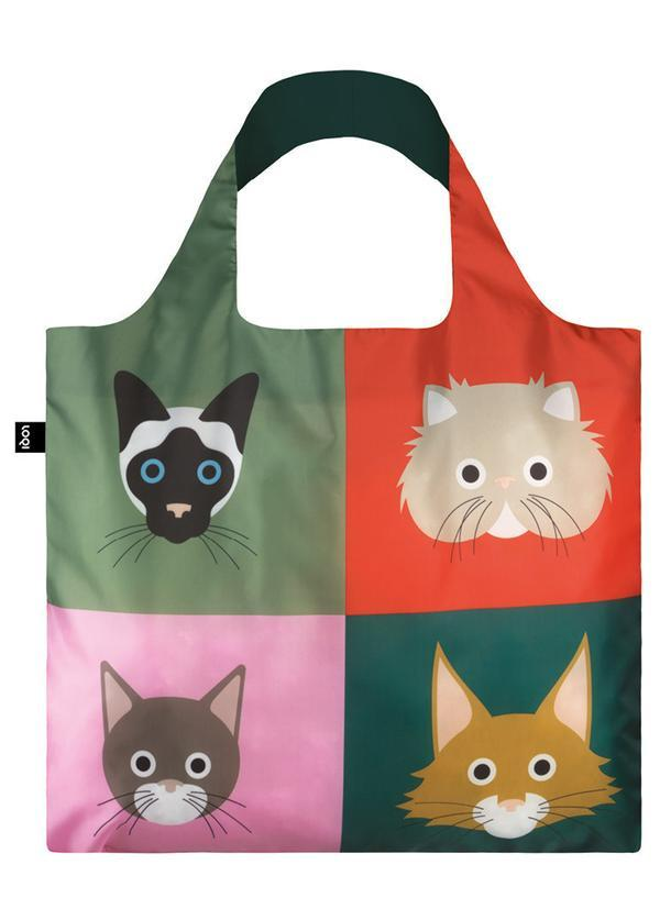 Cats Reusable Tote LOQI Accessories