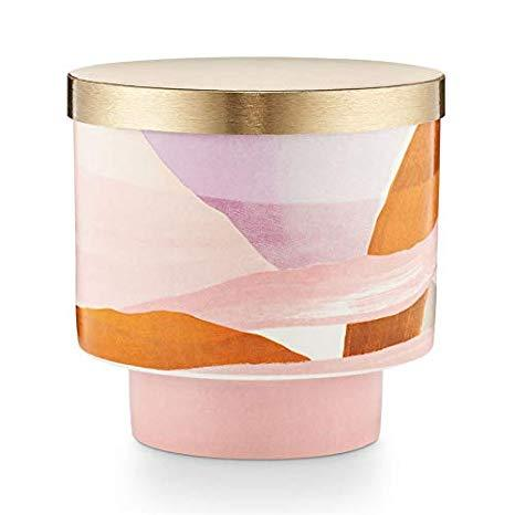 Coconut Milk Mango Lidded Ceramic Candle Illume Candles & Home Fragrance