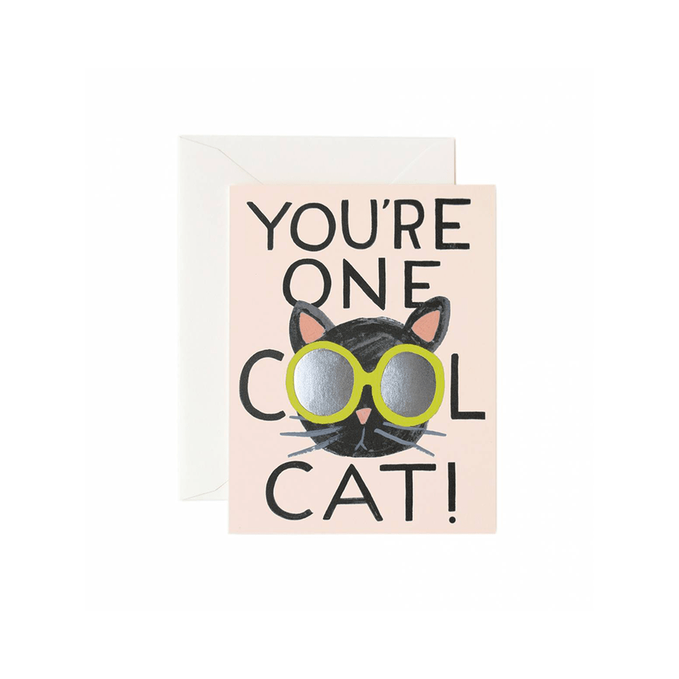Cool Cat Card Rifle Paper Co Cards
