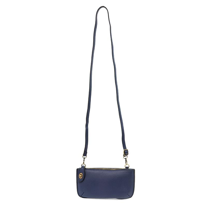 Dark Cobalt Mini Crossbody Wristlet Clutch Joy Susan Accessories