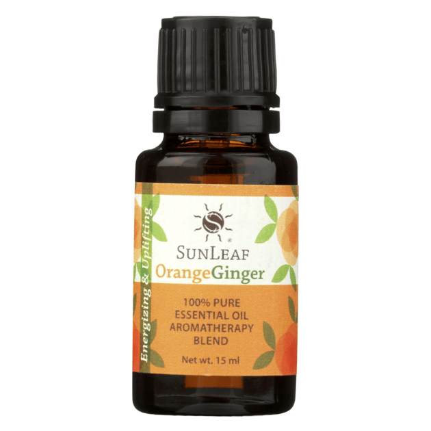 Essential Oil Blend 15 ml Bottle - Orange/Ginger SunLeaf Naturals LLC Candles & Home Fragrance