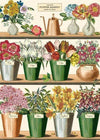 Flower Market Art Paper Cavallini Papers Wall Decor