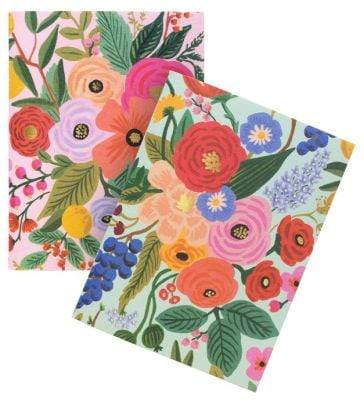 Garden Party Pocket Notebook Set Rifle Paper Co Paper Goods