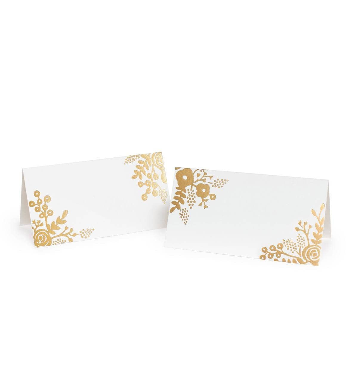 GOLD LACE Place Cards by Rifle Paper Co. Rifle Paper Co Cards