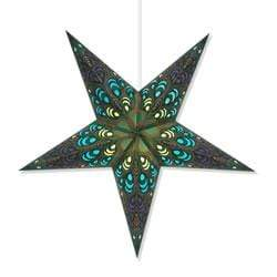 Green Pulse Hanging Star Lantern Whirled Planet Home Decor
