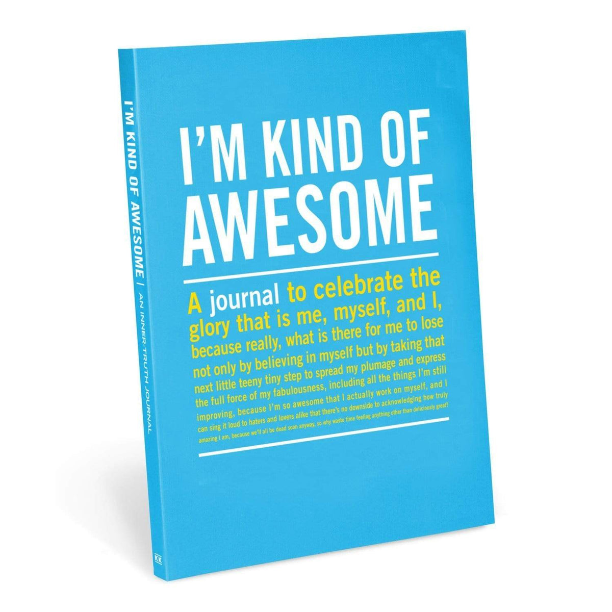 Inner Truth Journal - I'm Kind Of Awesome Knock Knock Paper Goods