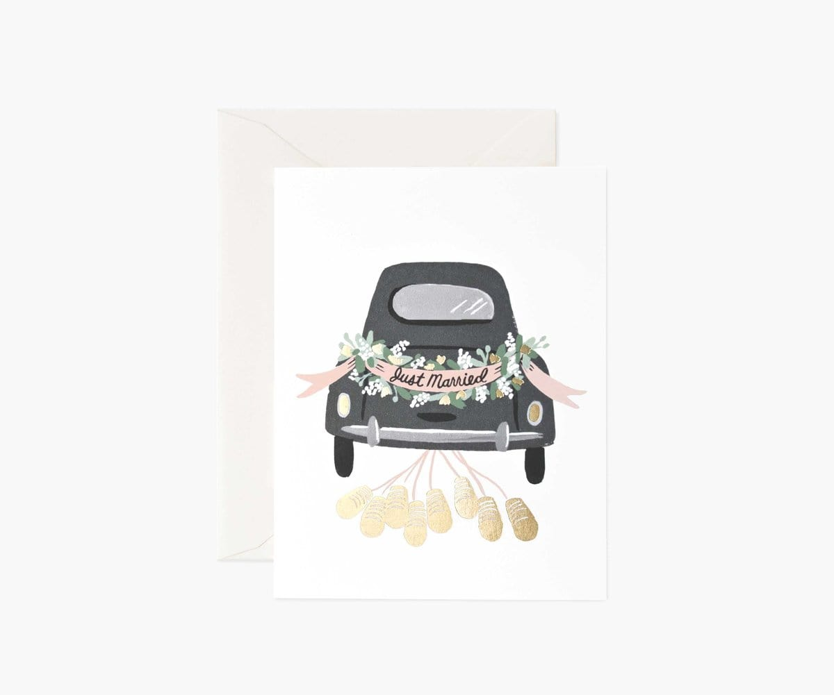 Just Married Card Rifle Paper Co Cards