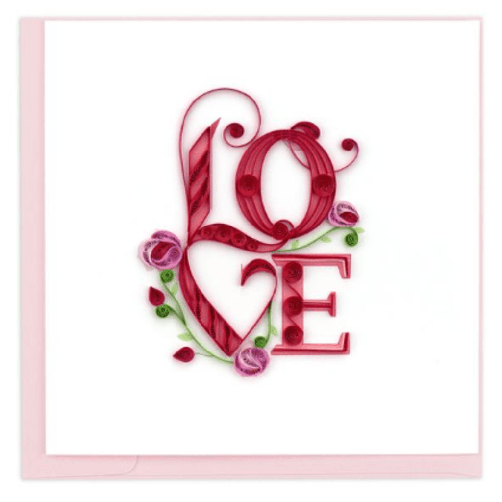 Love Card Quilling Card Llc Cards