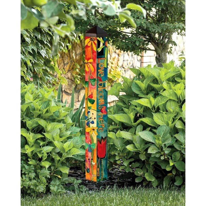Love Garden 6' Art Pole Studio M Garden/Outdoors