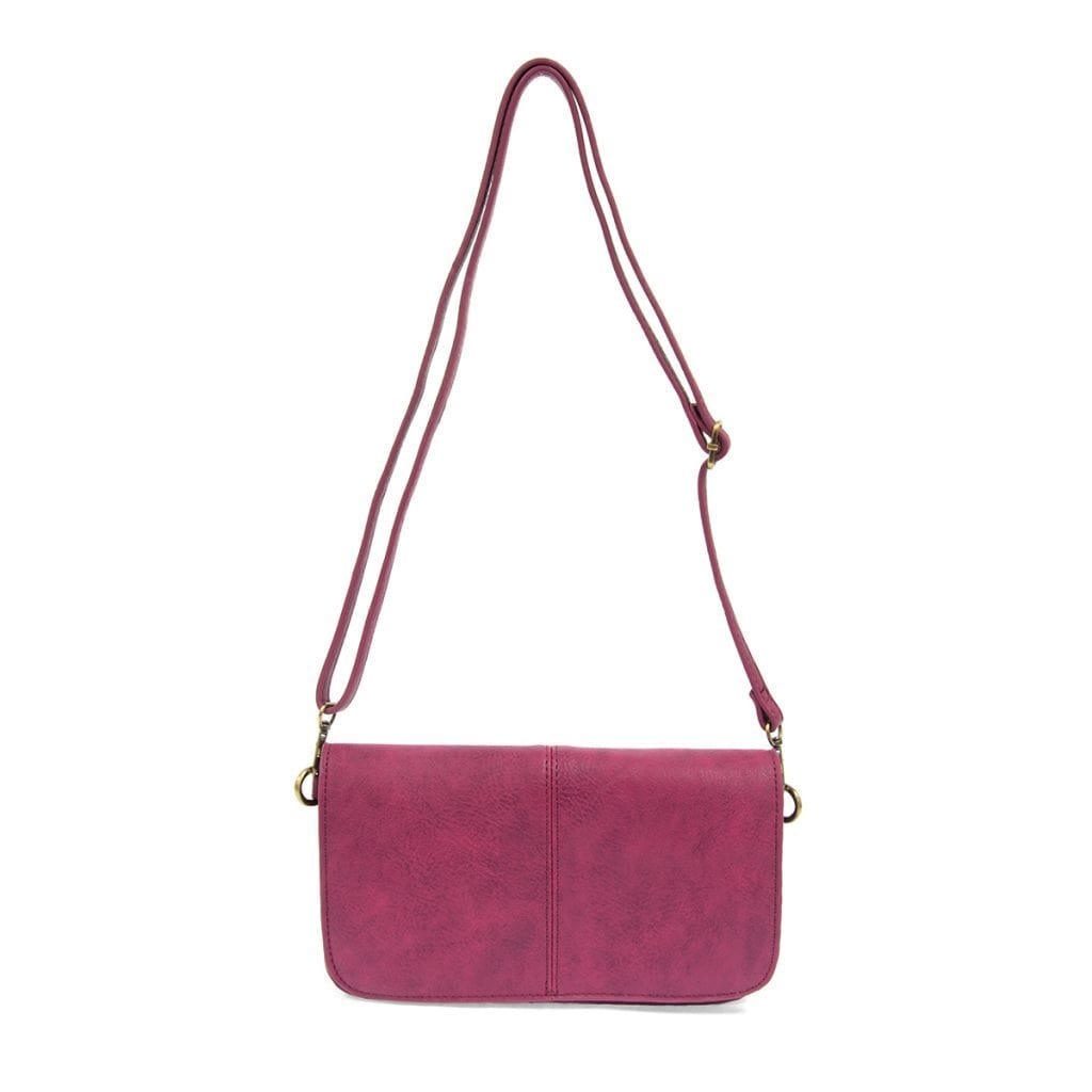 Magenta Mia Multi Pocket Crossbody Joy Susan Accessories