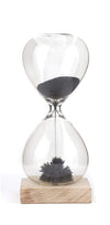 Magnetic Sand Hourglass Timer Kikkerland Designs Fun Stuff