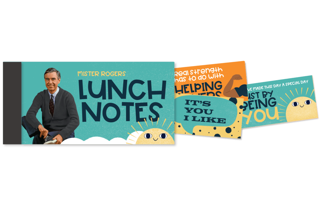 Mister Rogers Lunch Notes papersalt Paper Goods