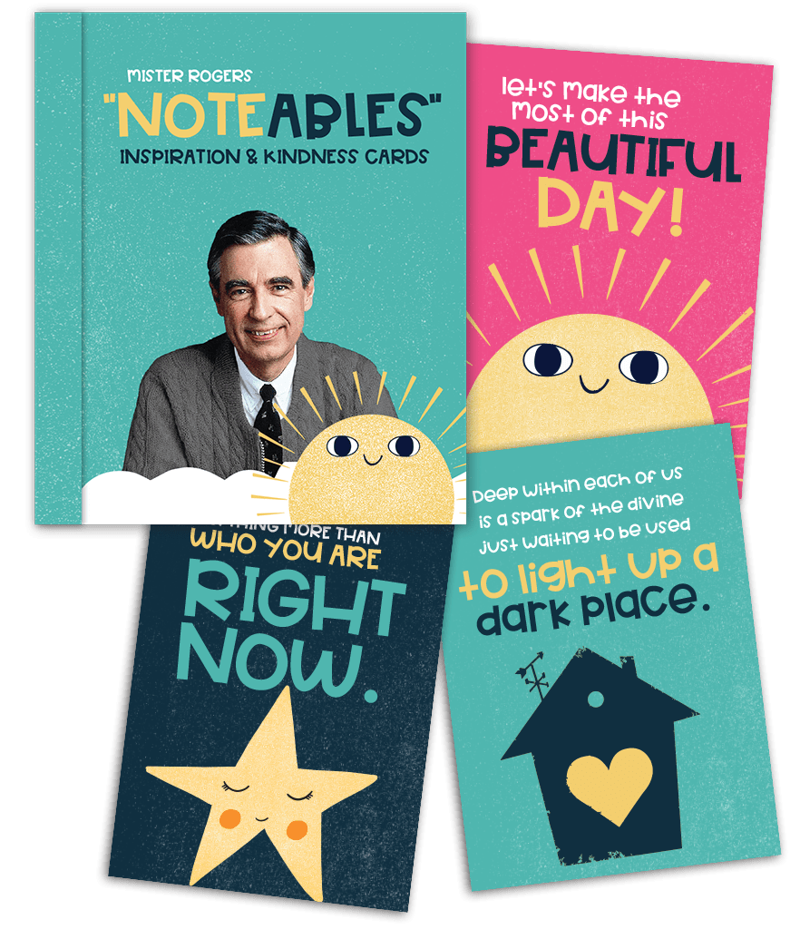 Mister Rogers Noteables - Inspirational & Kindness Cards papersalt Cards