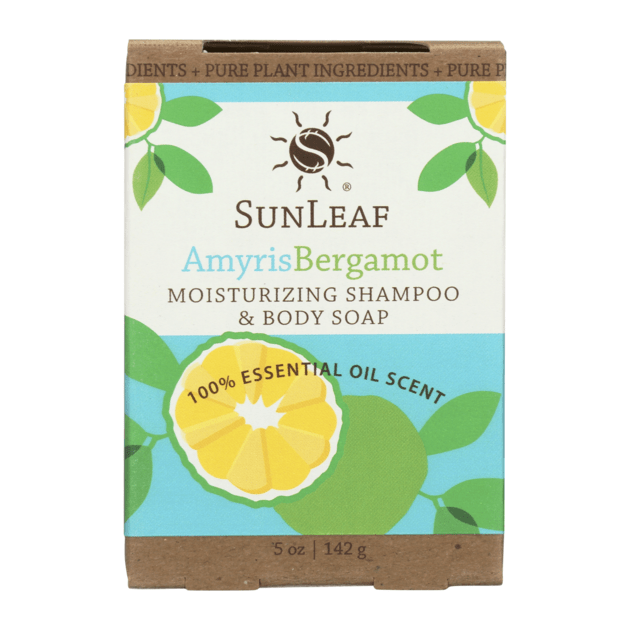 Moisturizing Shampoo & Body Soap - Amyris/Bergamont SunLeaf Naturals LLC Bath & Body