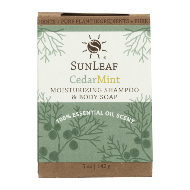 Moisturizing Shampoo & Body Soap - Cedar/Mint SunLeaf Naturals LLC Bath & Body