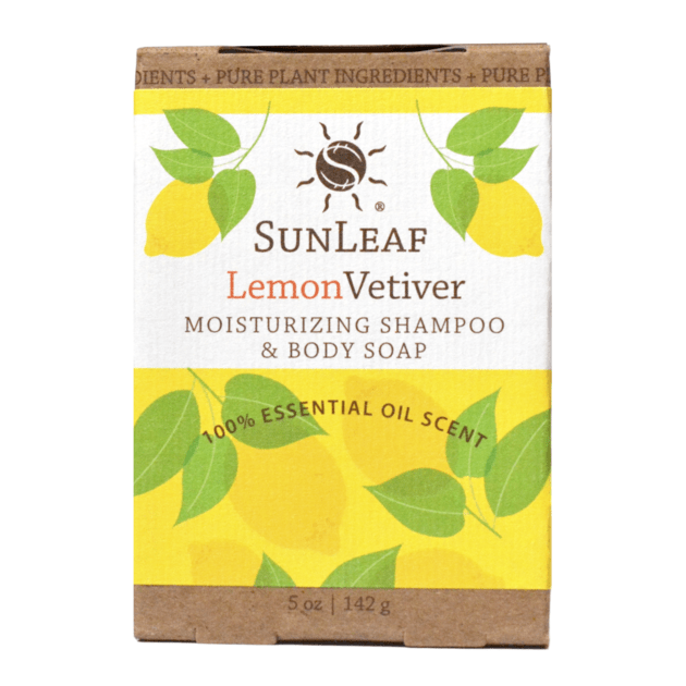 Moisturizing Shampoo & Body Soap - Lemon/Vetiver SunLeaf Naturals LLC Bath & Body