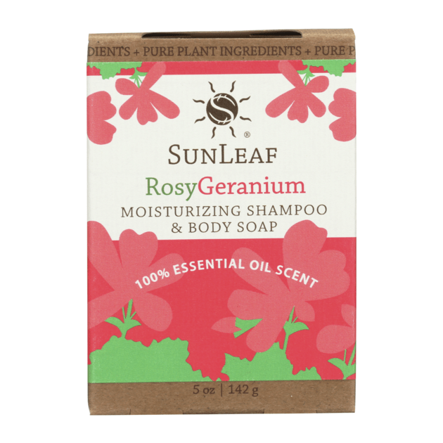 Moisturizing Shampoo & Body Soap - Rosy/Geranium SunLeaf Naturals LLC Bath & Body