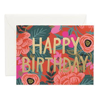 Poppy Birthday Cards Boxed Set Rifle Paper Co Cards